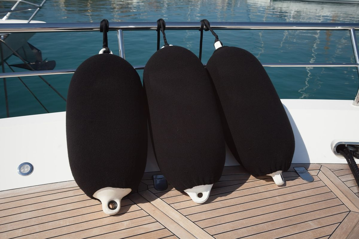 fender covers for custom mooring systems for megayachts