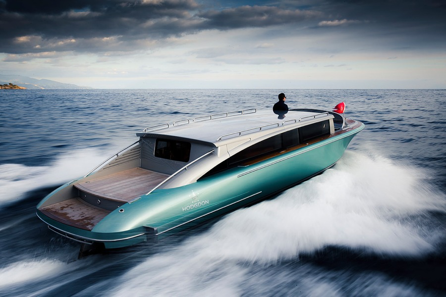 limo tender for a megayacht