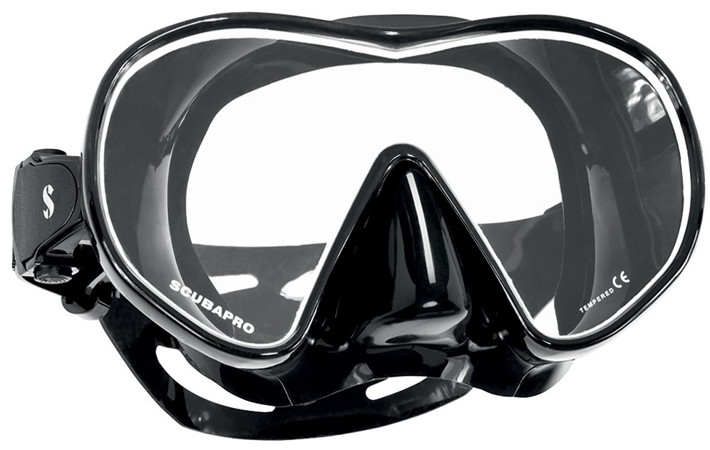 scuba and snorkel mask