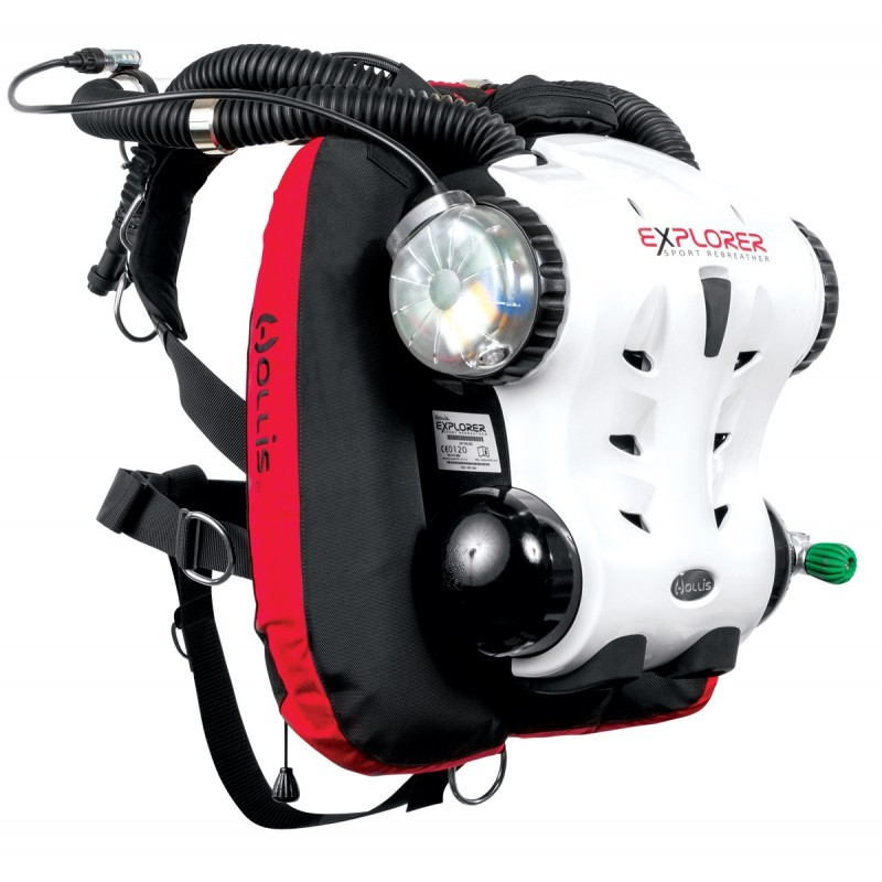 diving rebreather from hollis a scuba diving equipment supplier