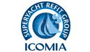 icomia superyacht refit group logo