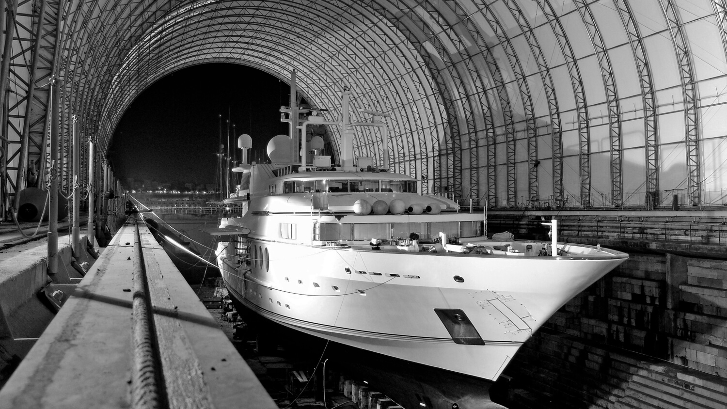 superyacht builds or refits supported