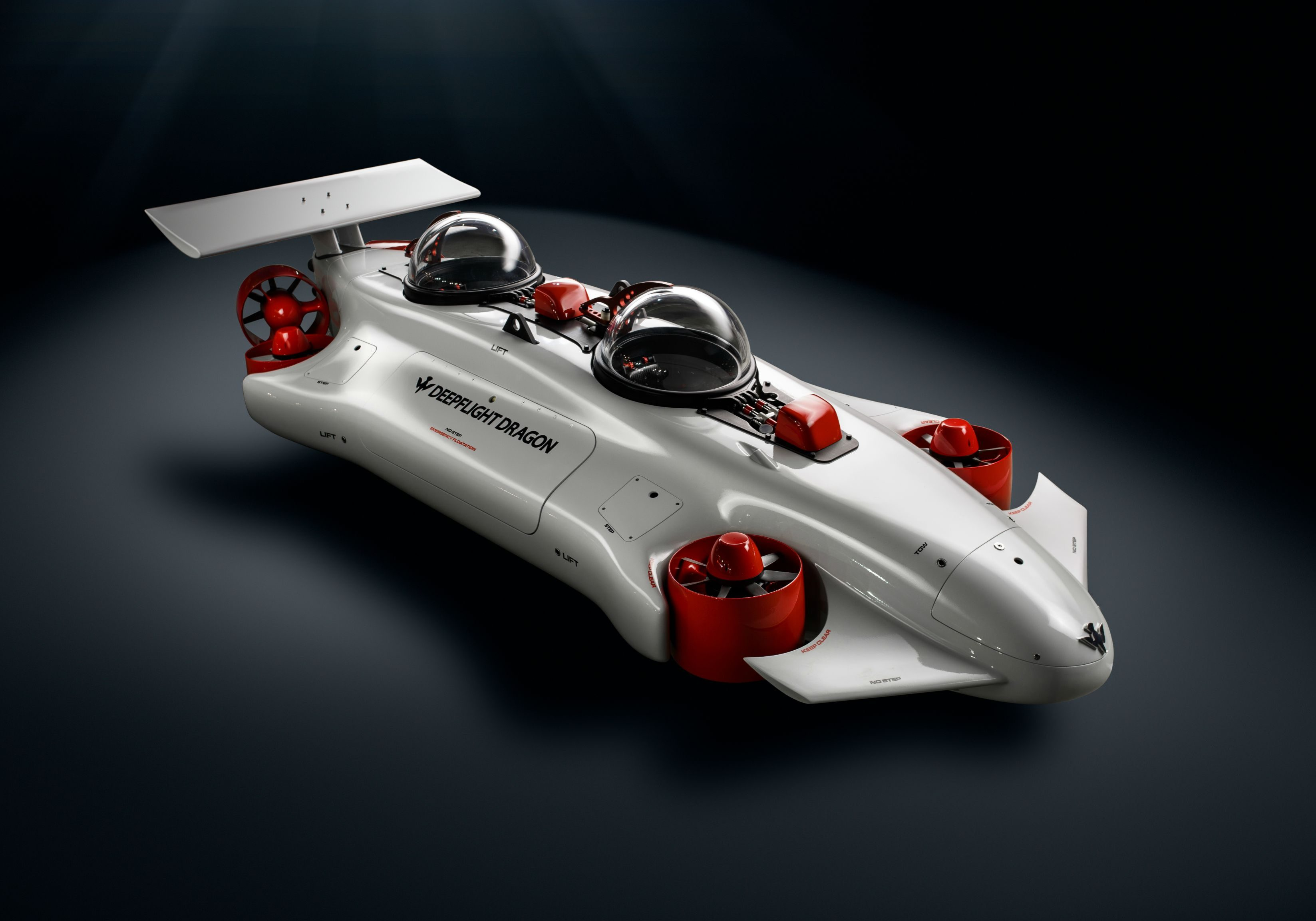 deepflight dragon personal submarine is the ultimate superyacht toy