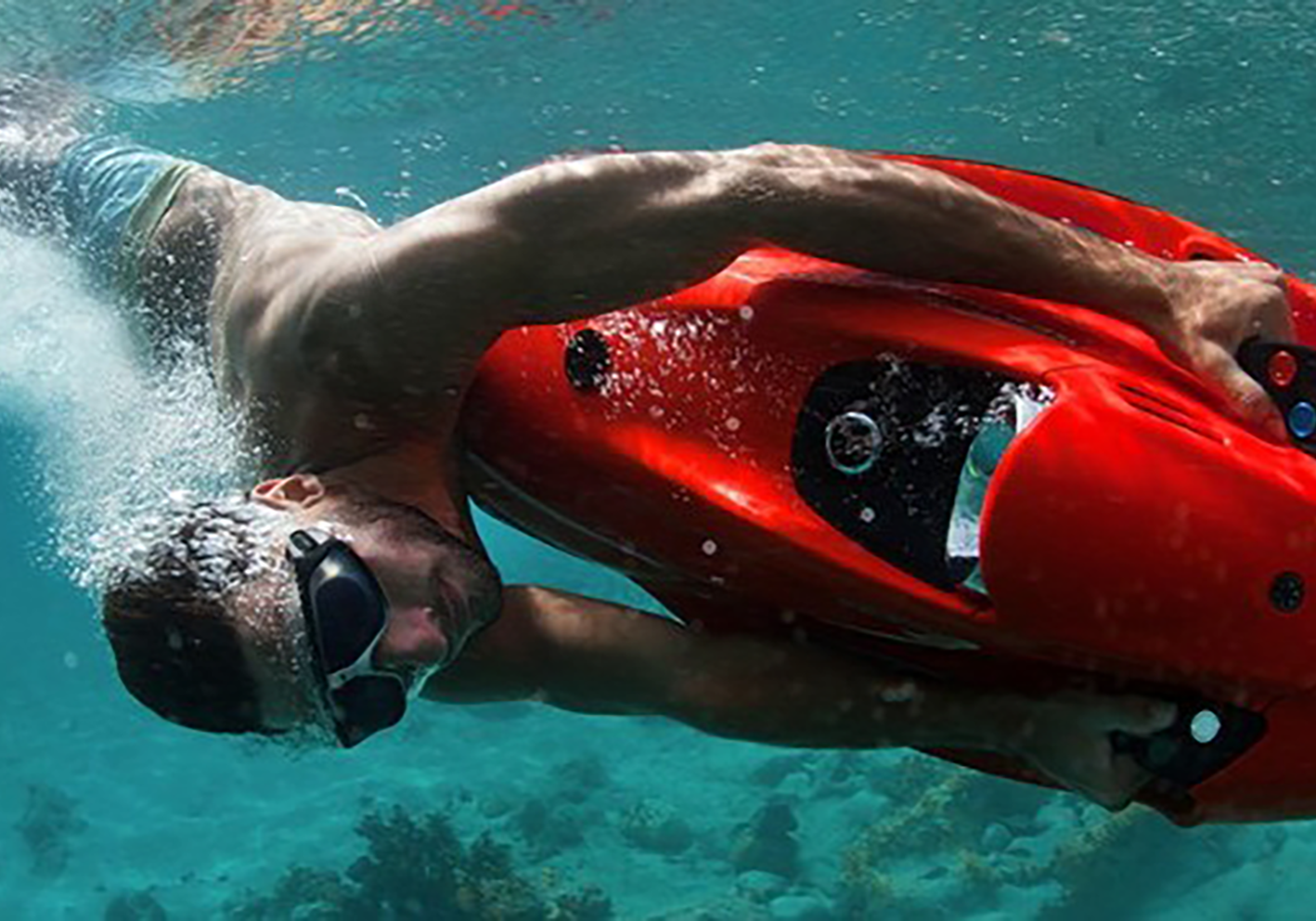 seabob scooter is a personal submersible that makes snorkeling more fun and exciting